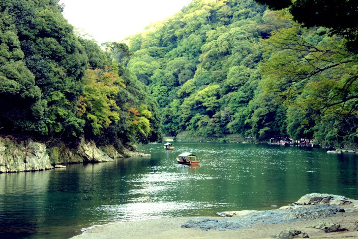 arashiyama green river