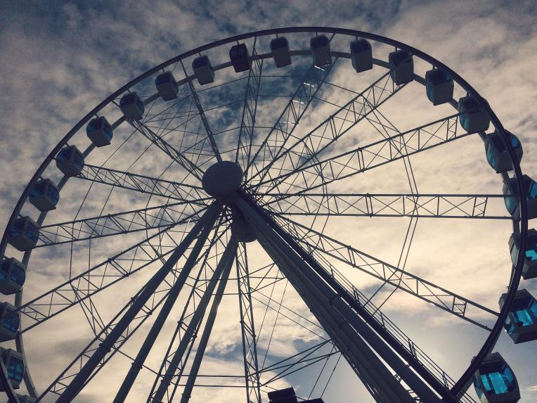 Helsinki sky ferris wheel