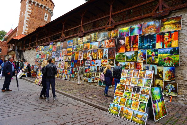 Streetart in Krakow