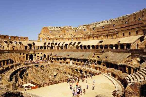 Rome travel photo colosseum