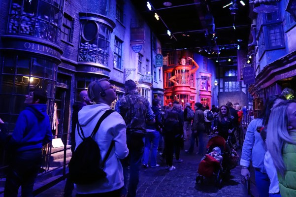 Blogger in Harry Potter world