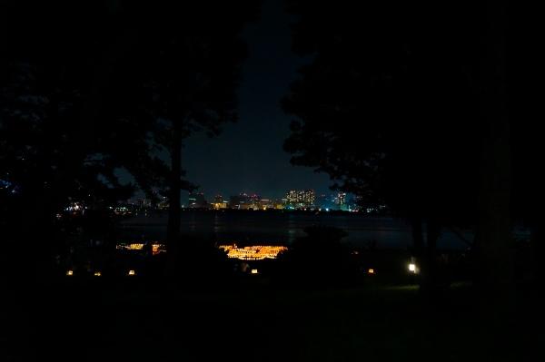 Dark night in Tokyo